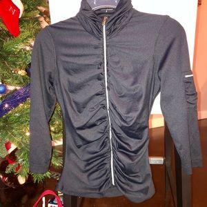 Ruched Bebe Sport lightweight, soft jacket!
